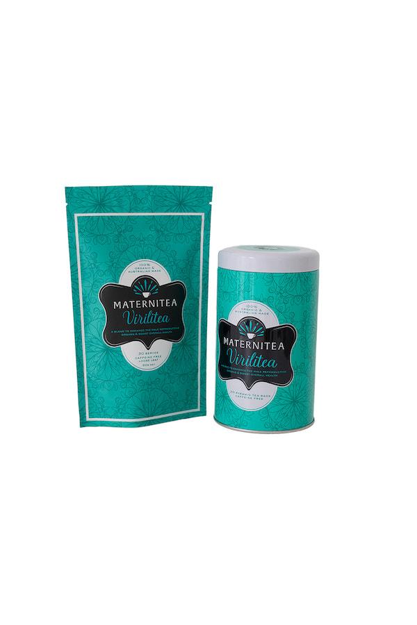 Virilitea Tea Blend Packaging